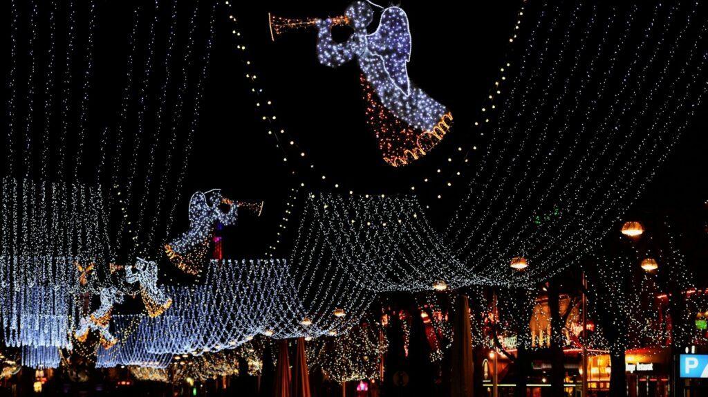 illuminations de Noël à Reims