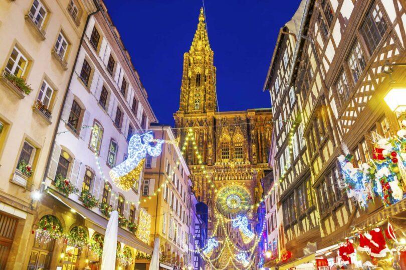 illuminations de Noël en France