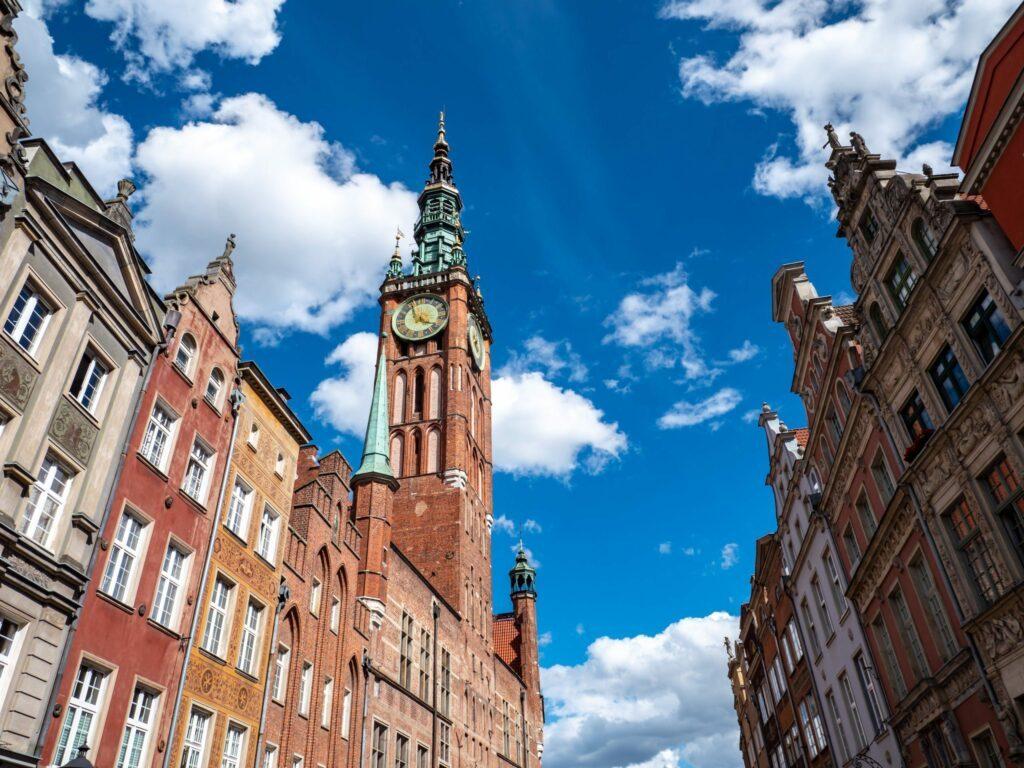 mairie Gdansk Pologne
