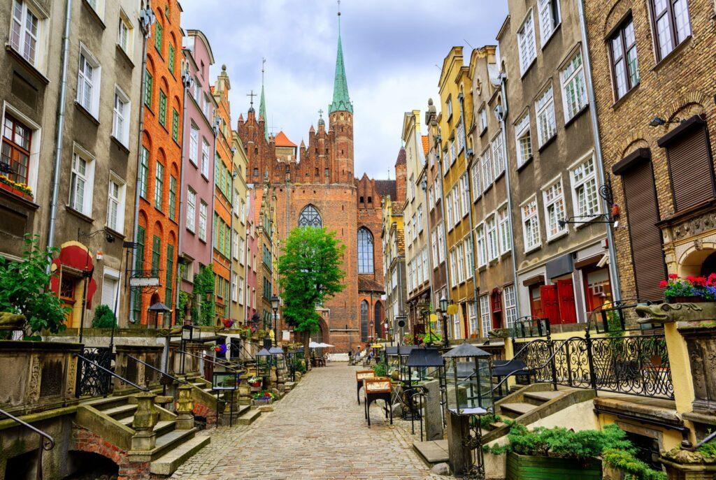 Mariacka à Gdansk