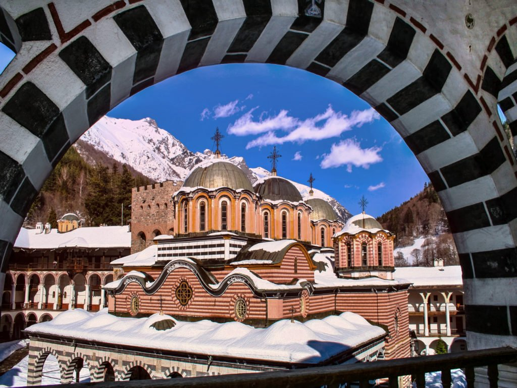 Monastère Rila en Bulgarie