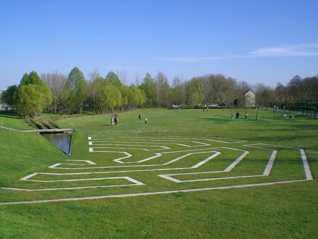 parc Saint-Pierre à Amiens