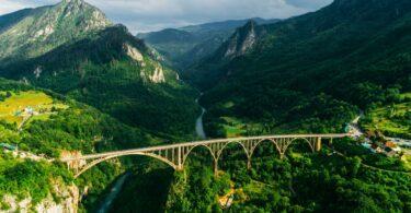 paysages du Monténégro