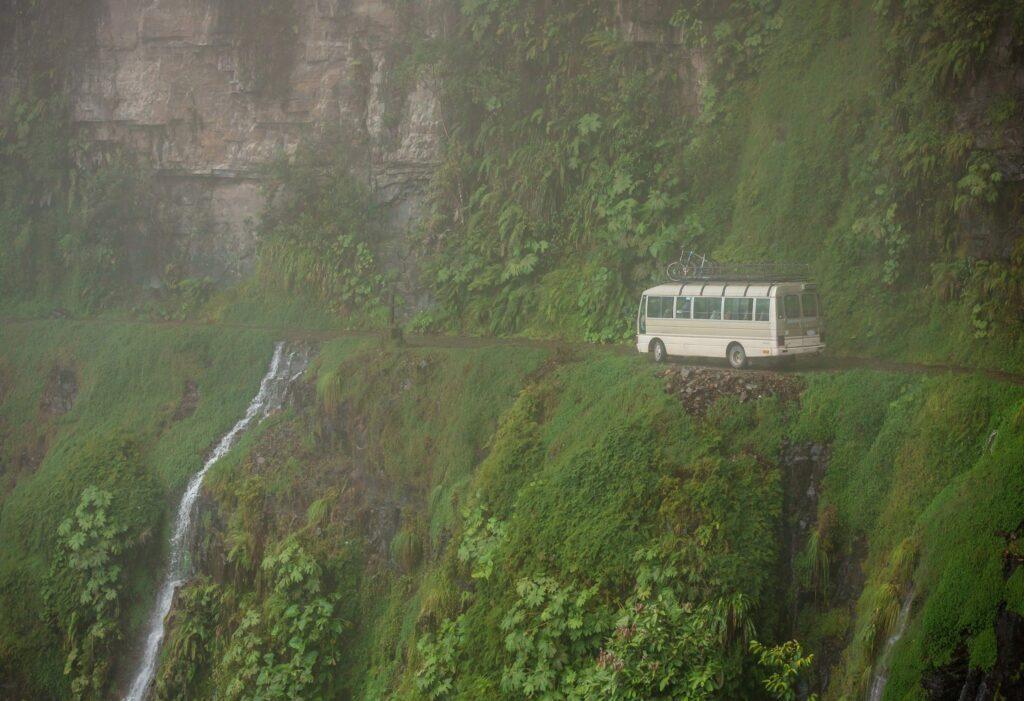 la route des Yungas