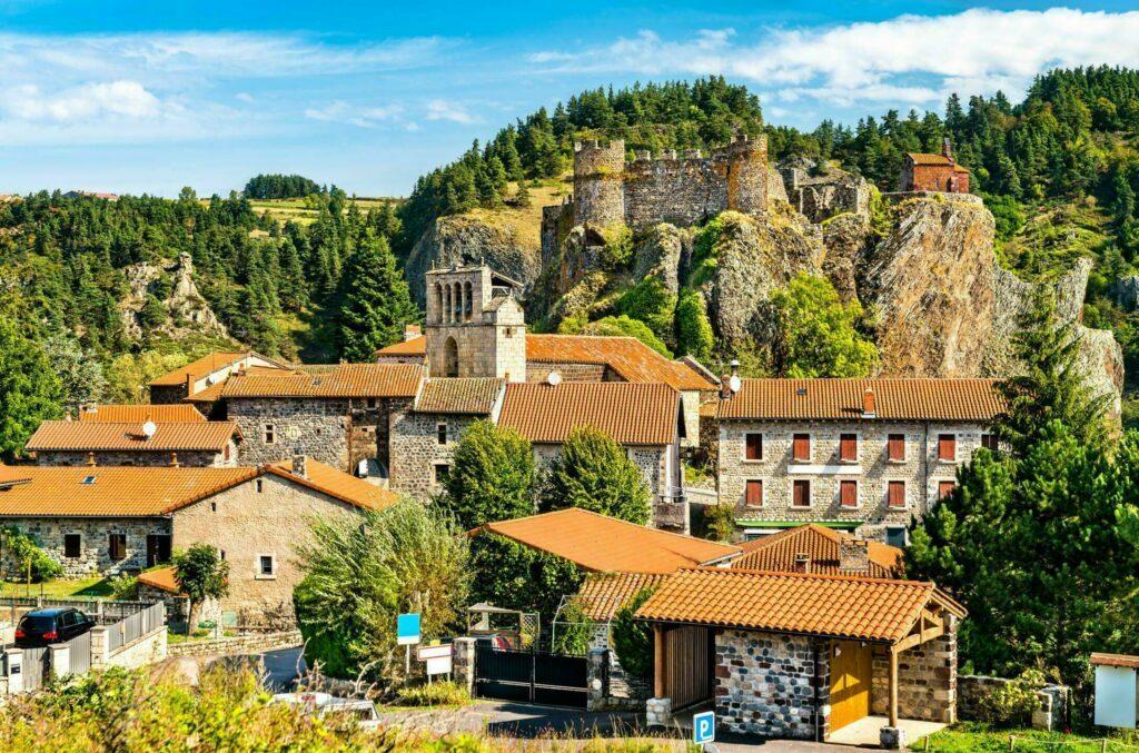 Arlempdes village