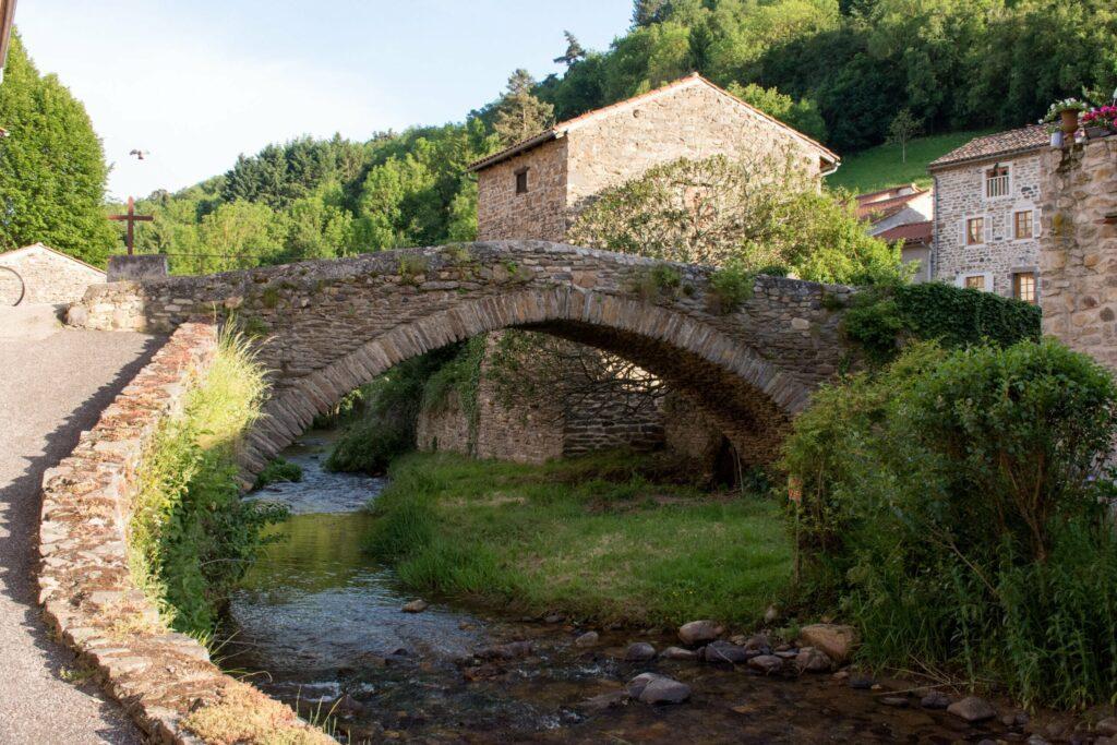 Blesle village en Auvergne