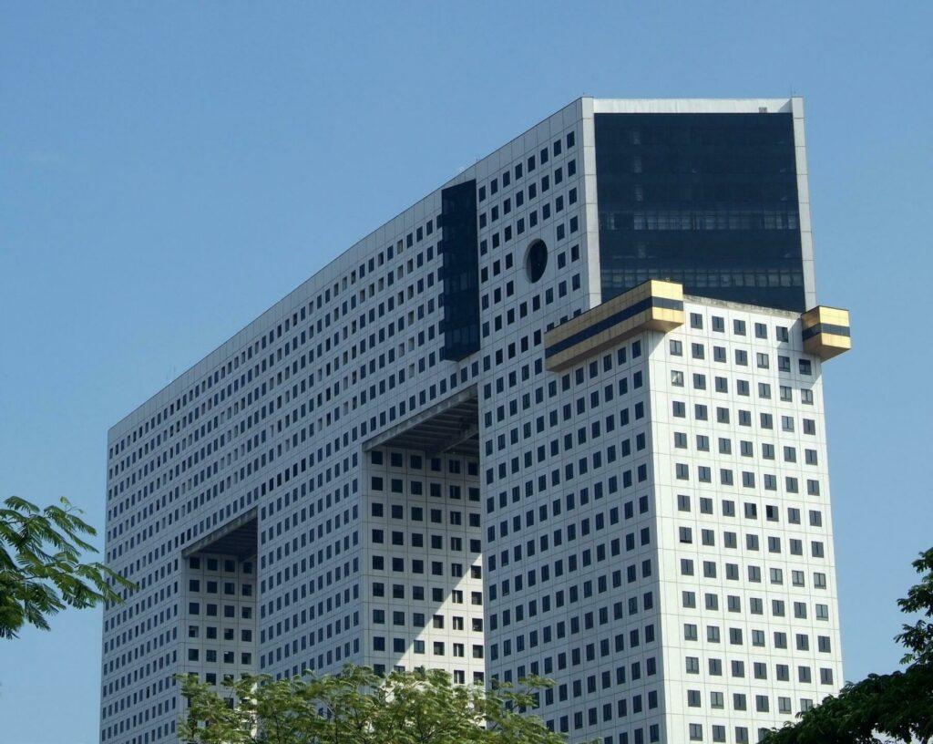 building éléphant à Bangkok
