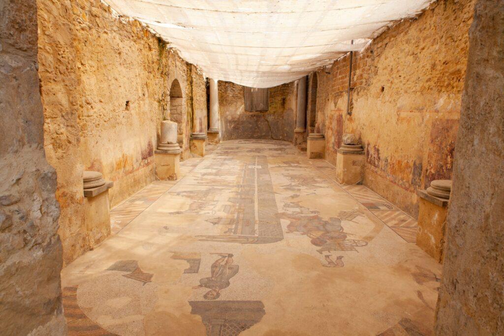 Casale maison romaine en Sicile