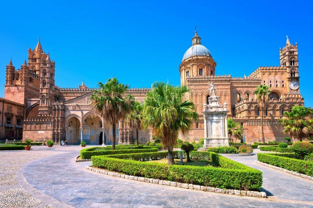 Cathédrale de Palerme en Sicile
