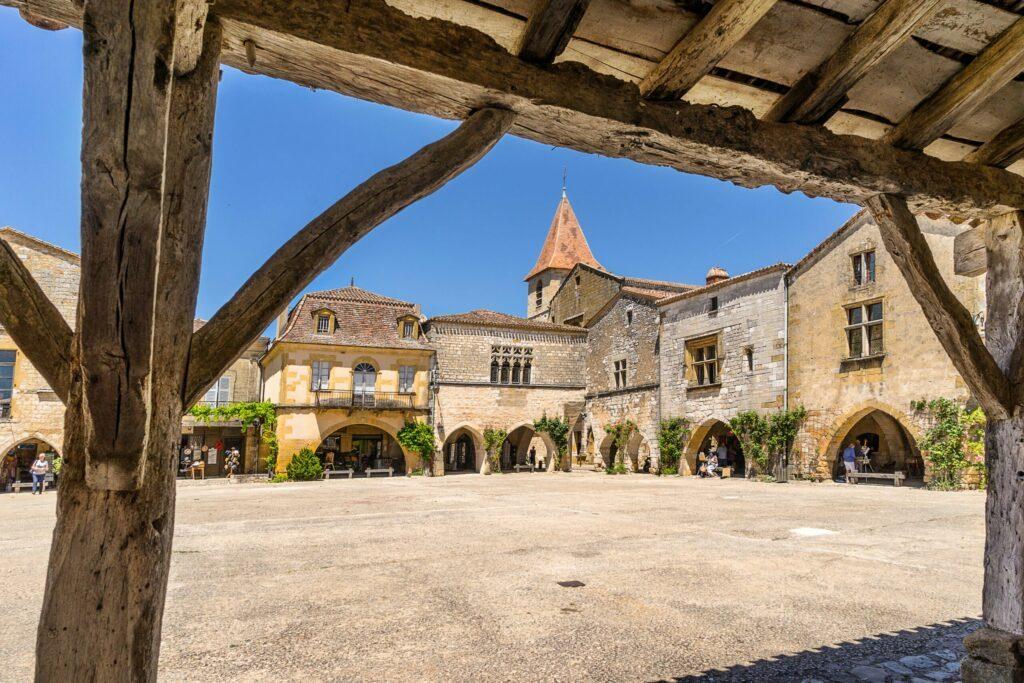 Monpazier village de Dordogne
