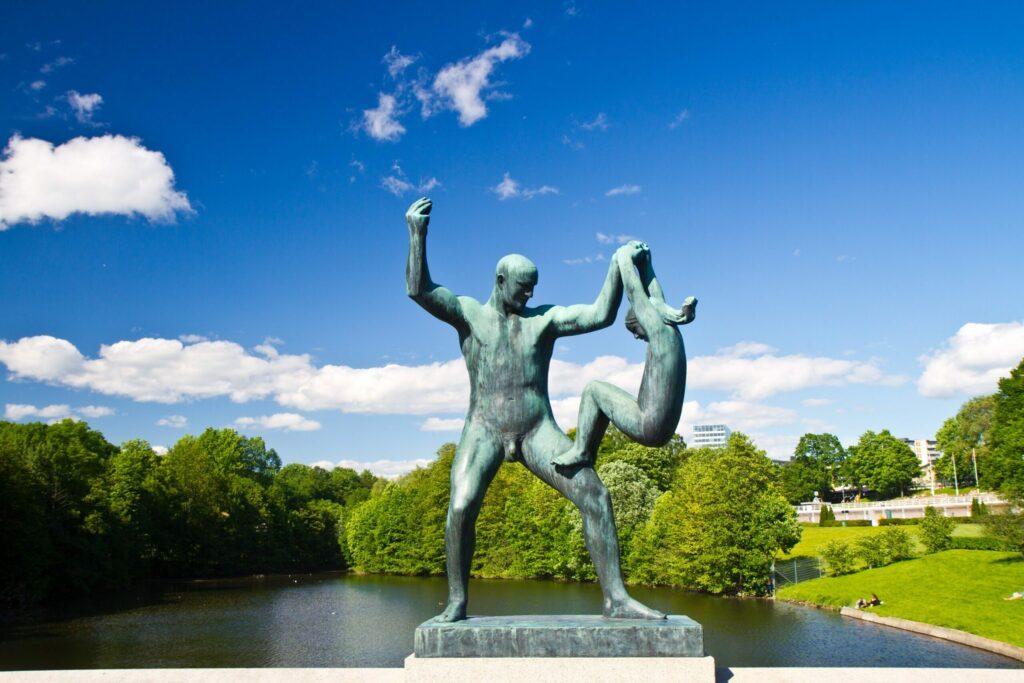 parc Vigeland à Oslo