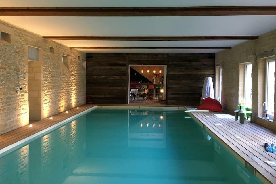 piscine chauffée Normandie