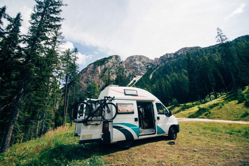 spot pour camping-car