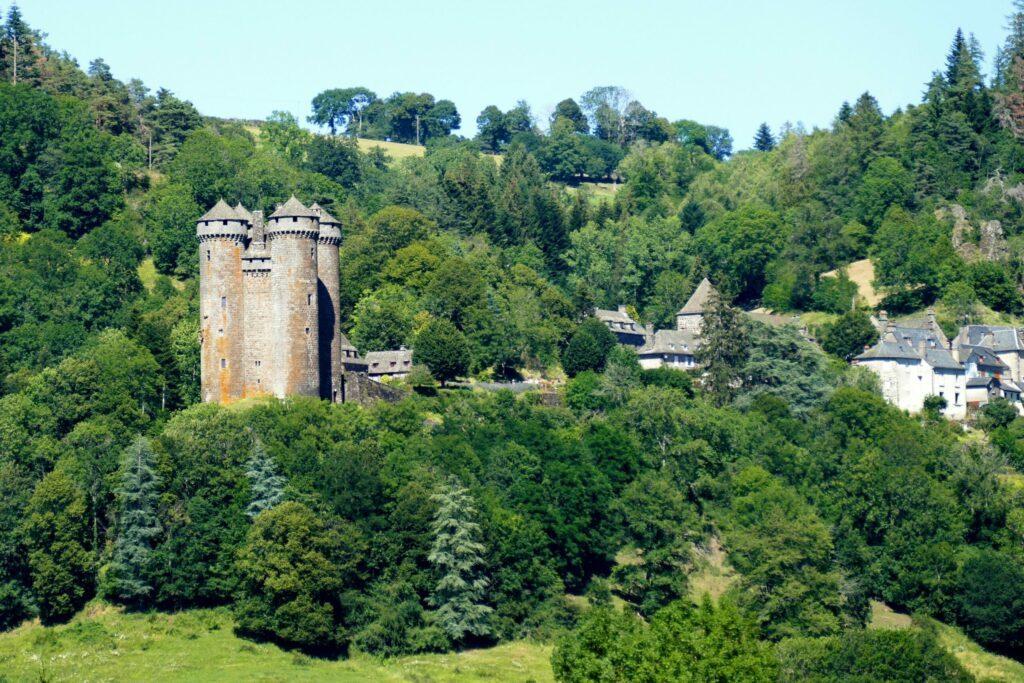 Tournemire et le château d'Anjony