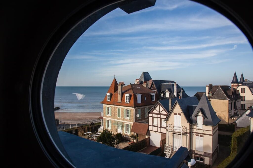 vue sur mer Deauville