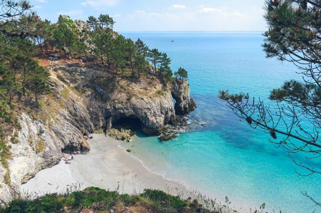 L'Île Vierge dans le Finistère, paysage de Bretagne