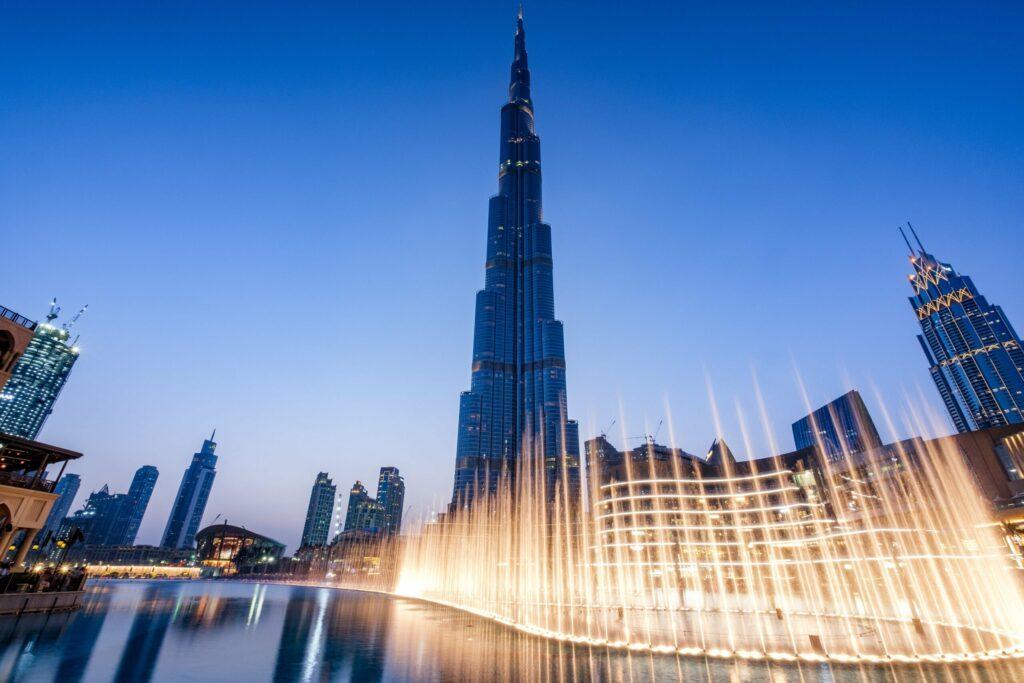 Burj Khalifa le soir