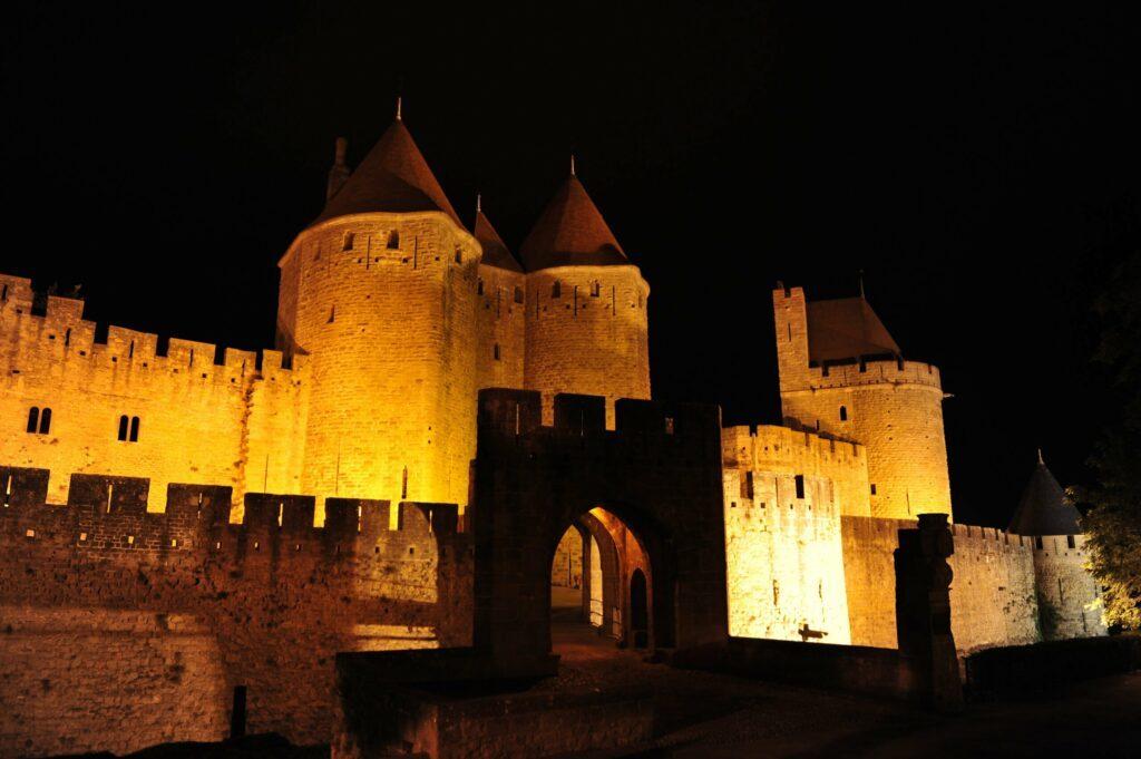 Carcassonne de nuit