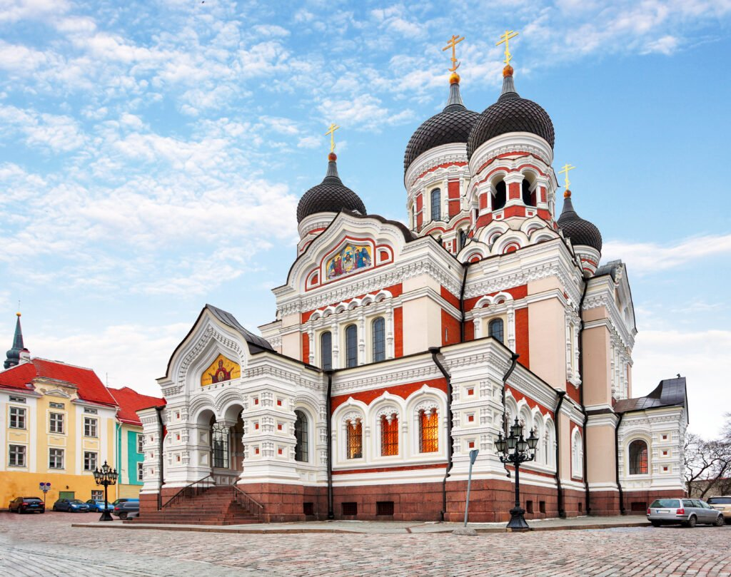 cathédrale Alexander Nevsky en Estonie