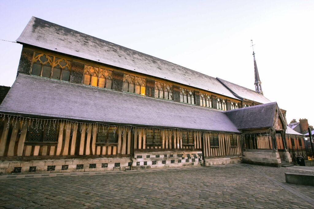 église Sainte-Catherine à faire à Honfleur