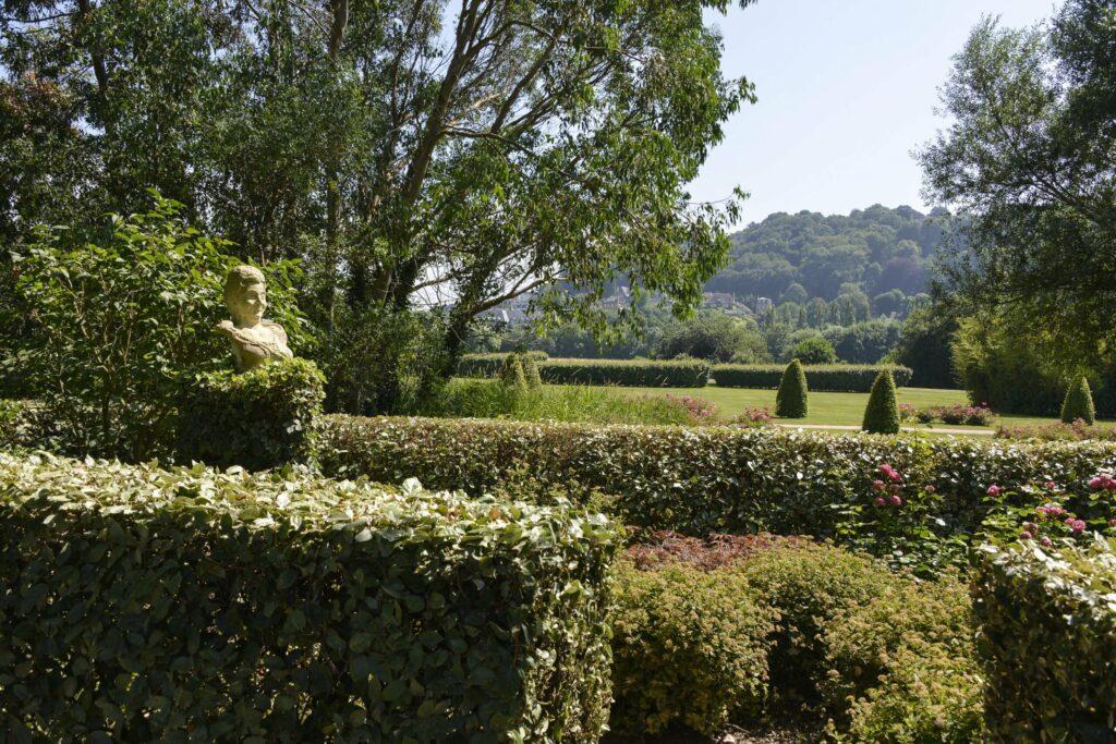 jardin des personnalités Honfleur