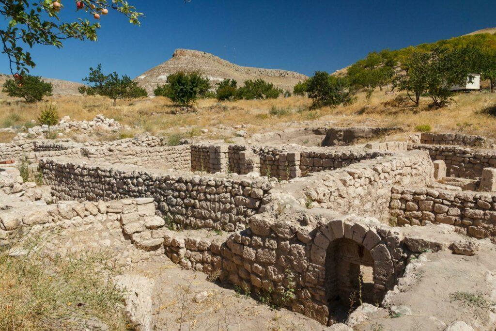 L'ancienne cité de Sobesos en Cappadoce