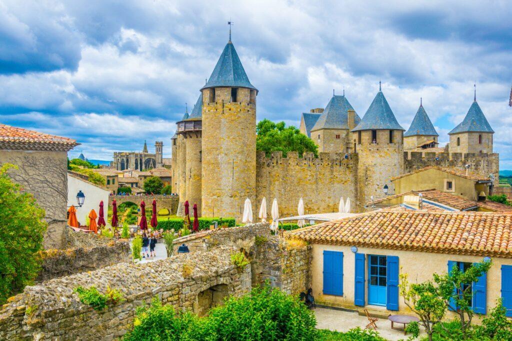 le château Comtal à voir à Carcassonne