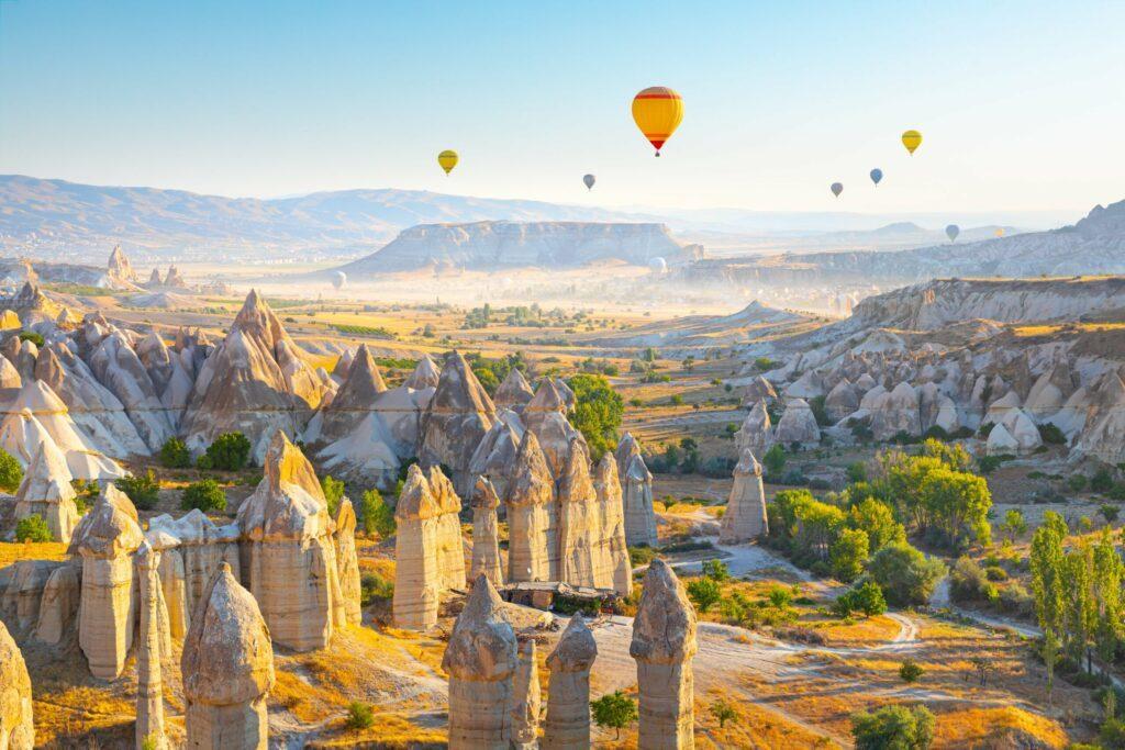 Love Valley à voir en Cappadoce