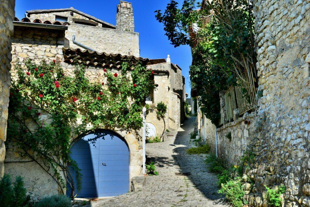 Mirmande plus beaux villages de la Drôme