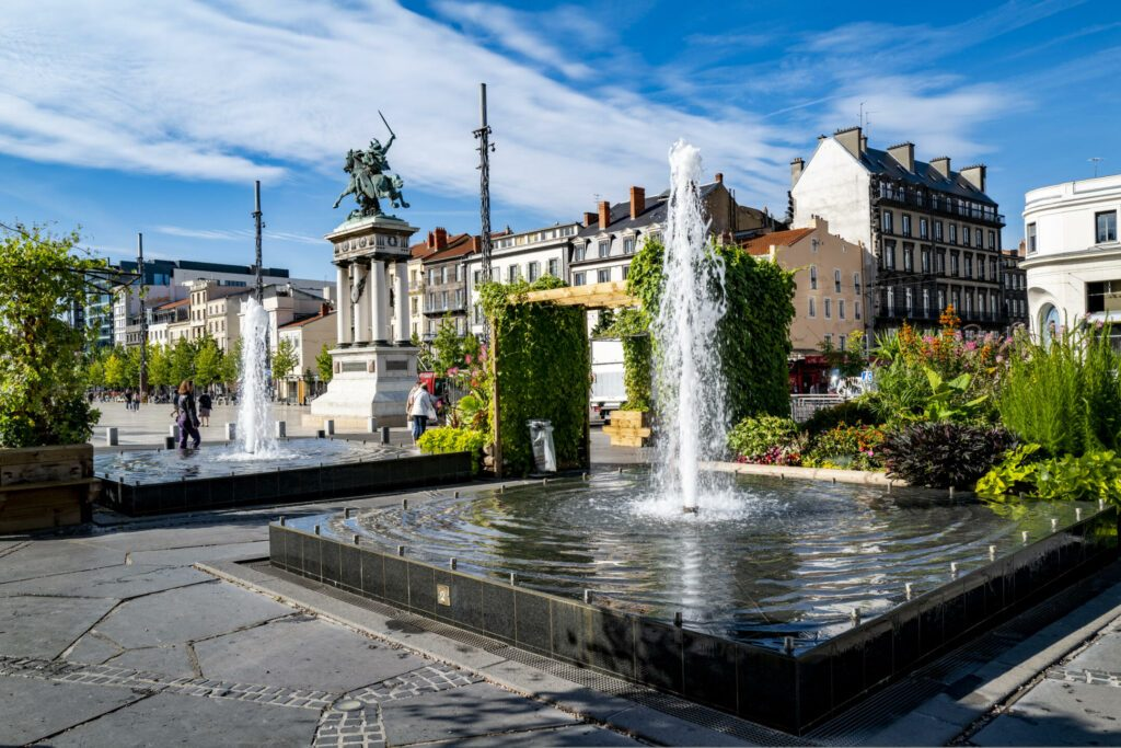 place de Jaude à faire à Clermont-Ferrand