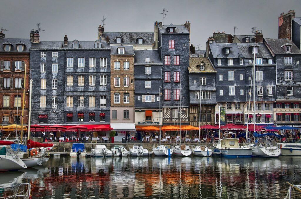 quai Sainte-Catherine à Honfleur
