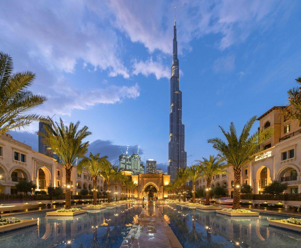 skyline de Dubaï