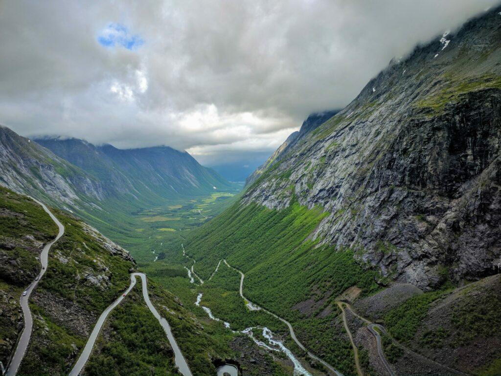 Trollstingen en Norvège