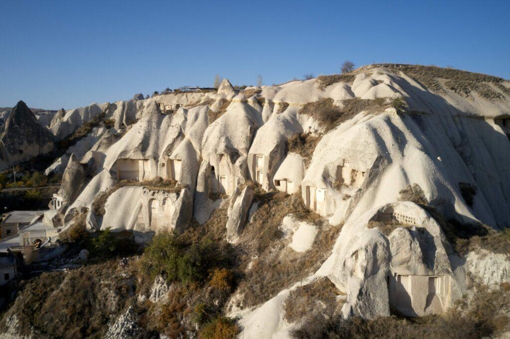 Vallée blanche en Cappadoce