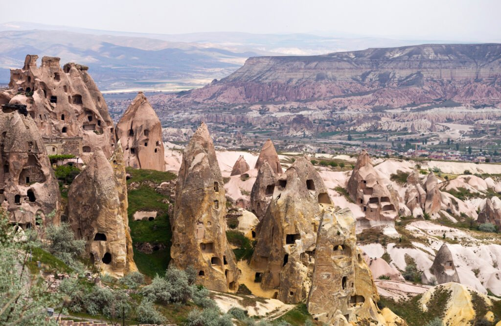 Vallée des pigeons en Cappadoce
