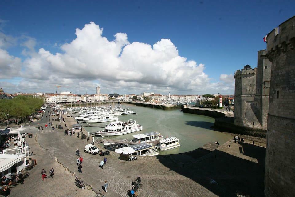 vue sur le Vieux-Port de la Rochelle