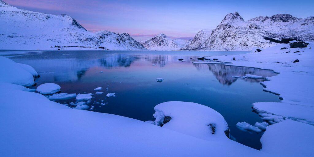 L'Anse dans les Lofoten