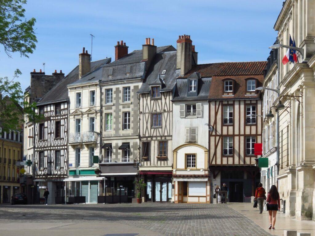 centre-ville de Poitiers