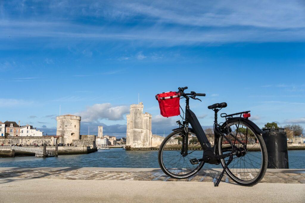 Faire du vélo autour de La Rochelle