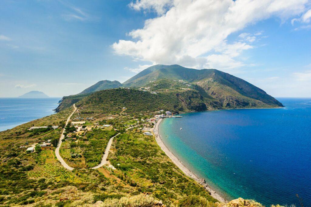 Filicudi Island en Sicile