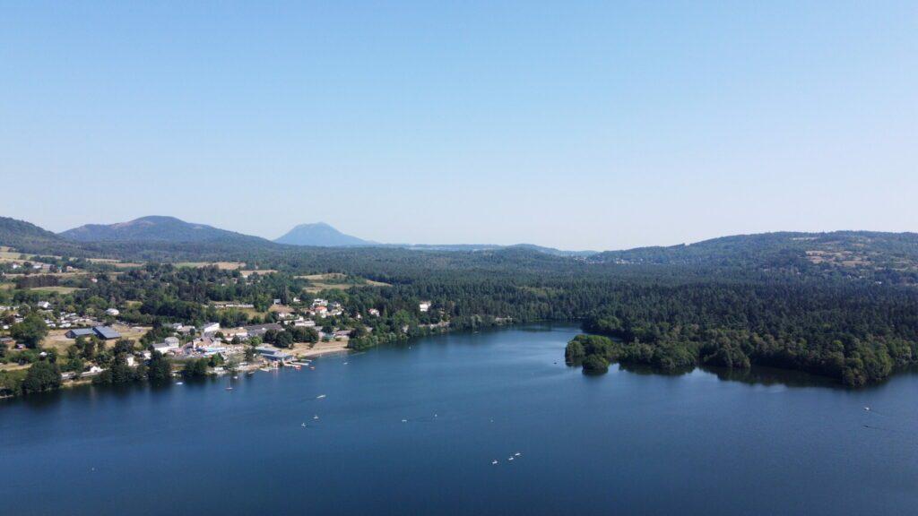 lac Aydat près de Clermont-Ferrand