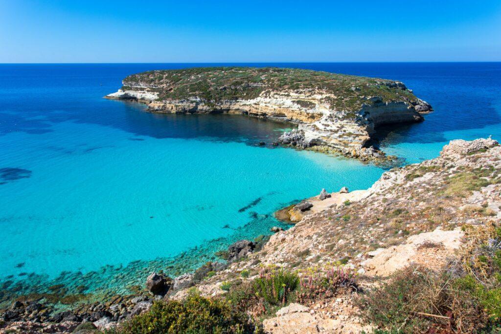 Lampedusa paysages de Sicile