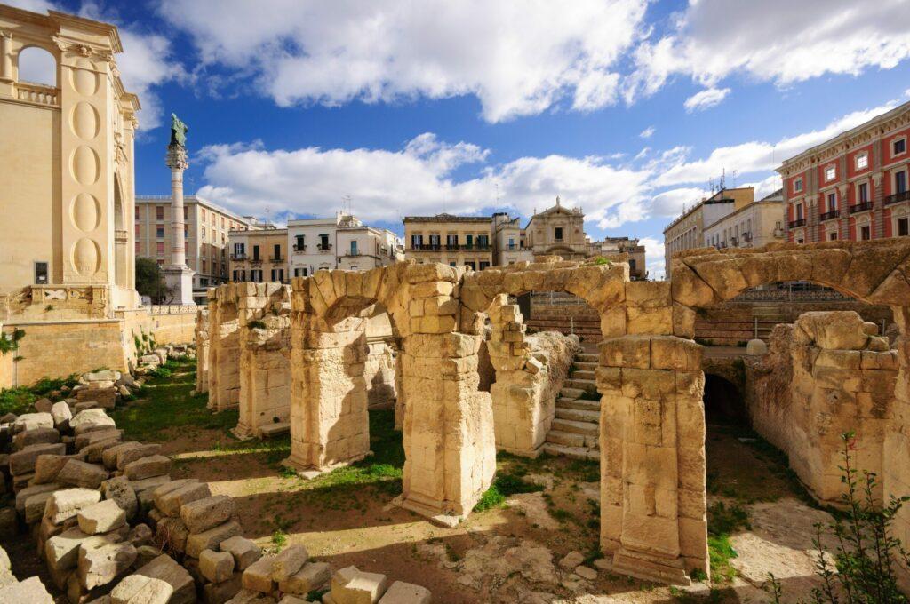 l'Amphithéâtre romain de Lecce