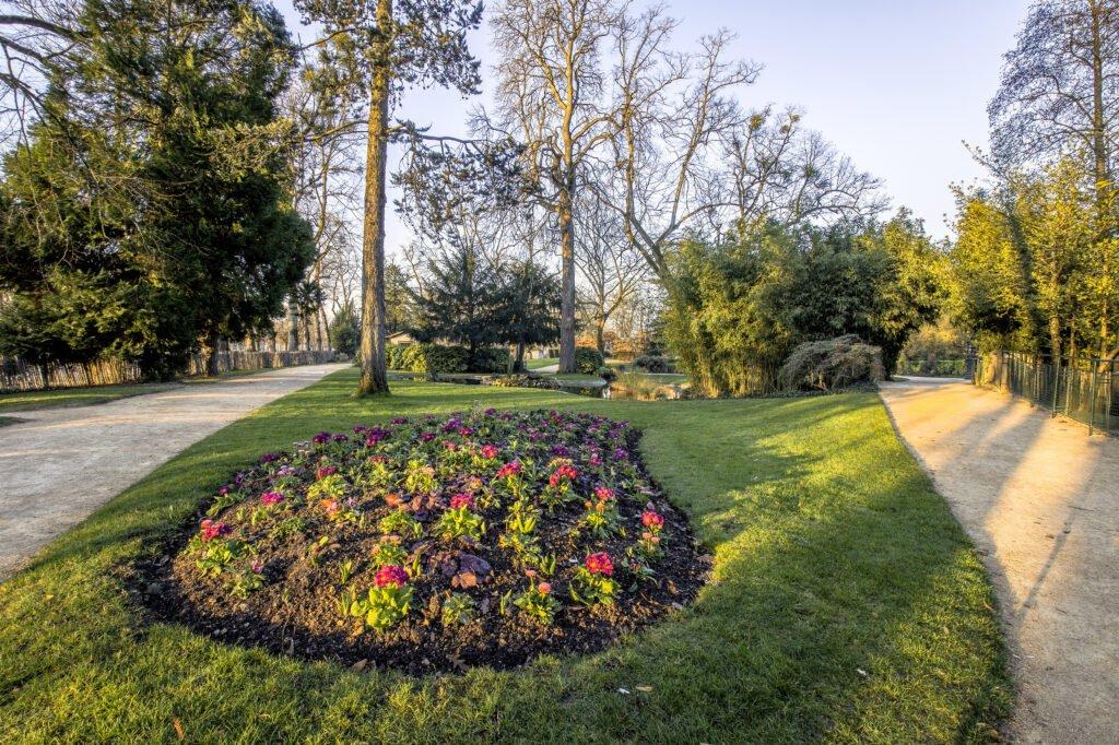 Le parc de Blossac à Poitiers