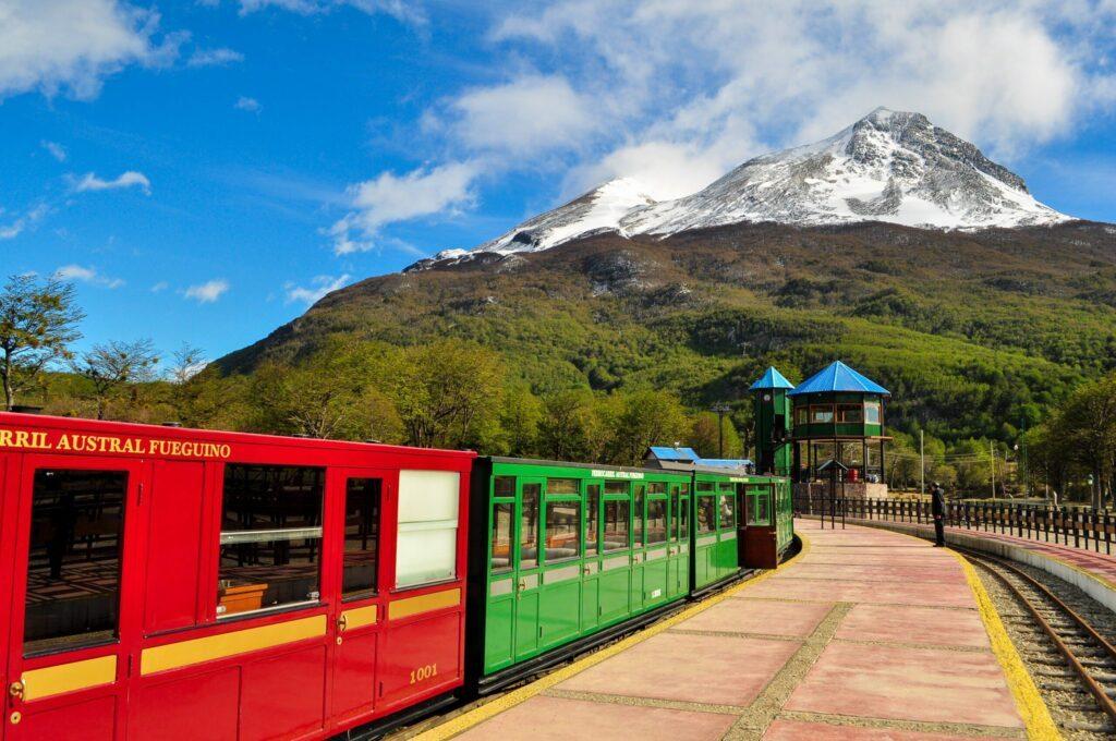Le train du bout du monde à visiter à Ushuaia