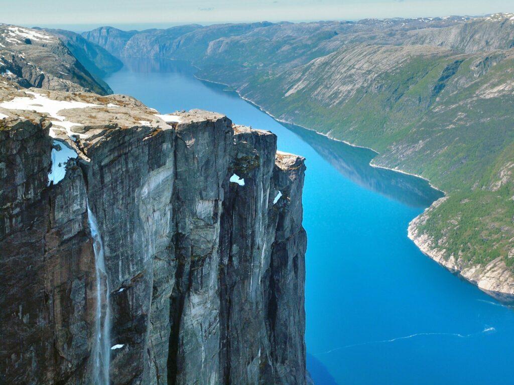 Lysefjord en Norvège
