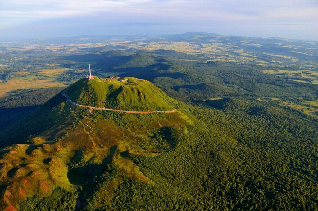 monter sur le Puy de Dôme