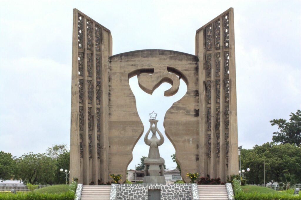 Monument de l'indépendance à Lomé