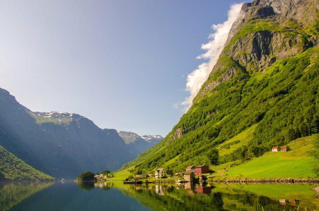 Nærøyfjord beaux fjords