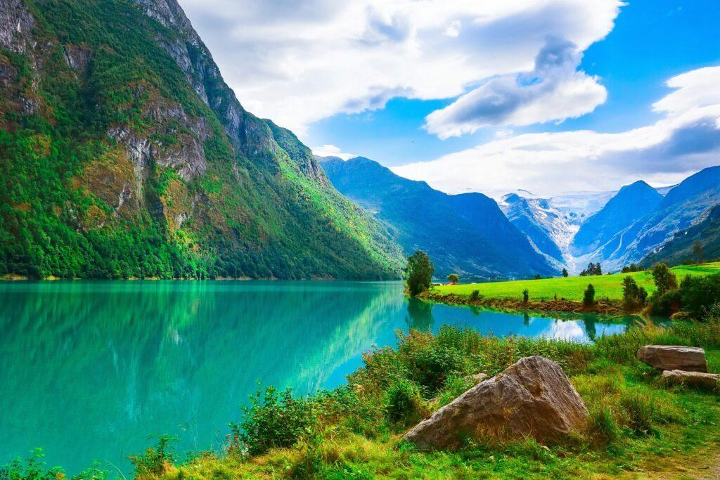 Nordfjord en Norvège